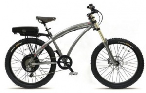 PRODECOTECH OUTLAW EX V4 750W REAR DIRECT DRIVE ELECTRIC BICYCLE MOUNTAIN GRAPHITE ON BLACK