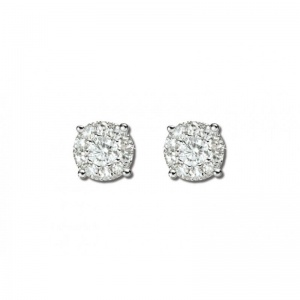 Mirage classic earring - 0.75 carat look