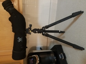 Vortex Viper HD spotting scope w. Cover and tripod
