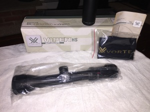 "Vortex ""Viper HS"" Riflescope 2.5-10 x 44 (Dead Hold BDC reticle)"