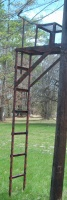 2 Ladder Stands/All metal/Heavily Built