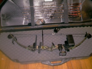 hoyt bow and case